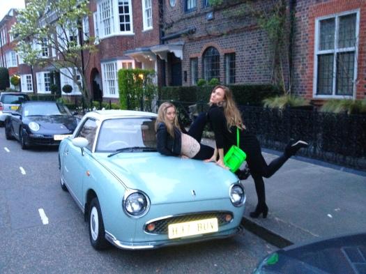 Being goofy in West London