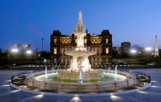 3. Doulton Fountain in Glasgow Green