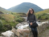 Visiting beautiful Glencoe in the Scottish Highlands